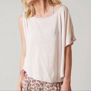 NEW Free People Cold Shoulder Assymetric Top